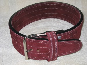 Prime Cut Suede Powerlifting Belt